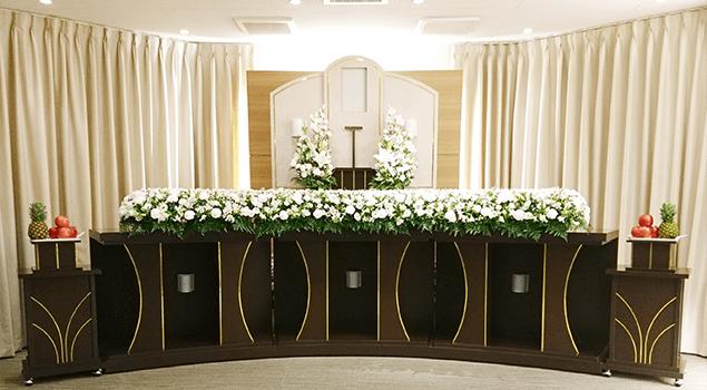 家族葬80プラン祭壇1