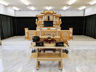洛王おごとホール祭壇