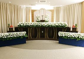 家族葬100プラン祭壇1