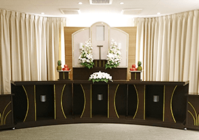 家族葬40プラン祭壇1