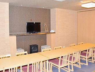 セレモニーハウス食事室