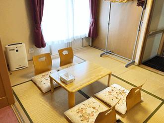 セレモニーハウス大阪東ご住職様控え室
