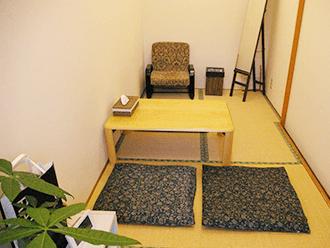 伏見桃山ホール住職控室