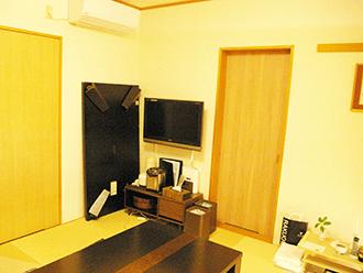 伏見桃山ホール親族控え室