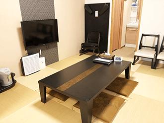 大津御殿浜ホール親族控え室