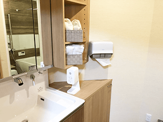枚方星丘ホール浴室