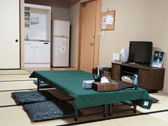 亀岡駅前ホールご親族様控室