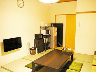 桂ホール親族控え室