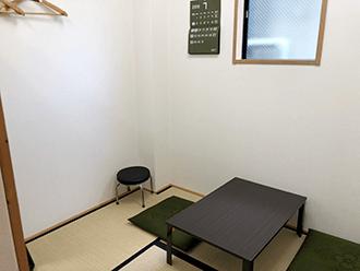 草津矢倉ホール住職控室
