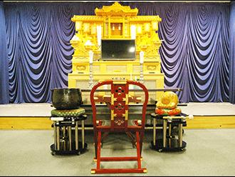 久世メモリアルホール祭壇