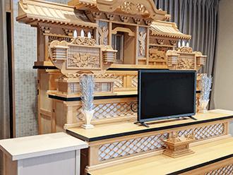 京田辺ホール祭壇