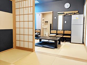 京田辺ホールご親族様控え室
