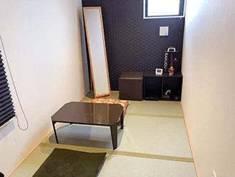 守山ホール住職控室