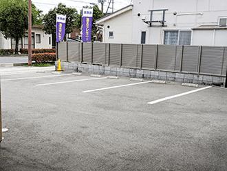 守山ホール駐車場