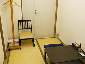 長岡京ホール住職控室