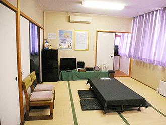 高槻ホール2階ご親族様控え室