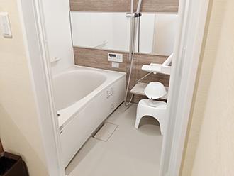 宇治槇島ホール浴室