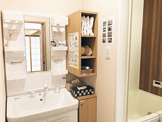 草津やばせ中央ホール浴室