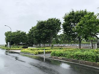野洲川斎苑入り口