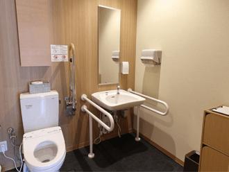 セレモニーハウス高槻西バリアフリー対応トイレ