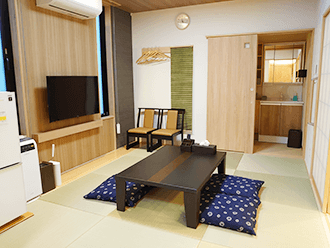 洛王西京極ホール ご親族様控室