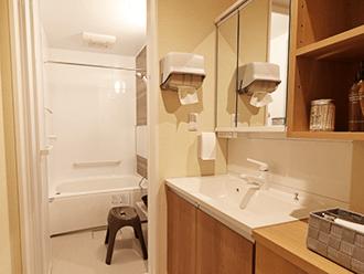 家族葬のセレモニーハウス大東新田 浴室
