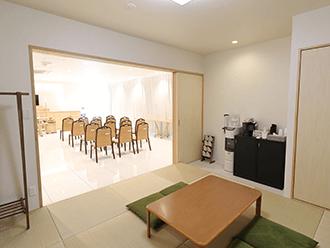 家族葬のセレモニーハウス尼崎名神町親族控え室