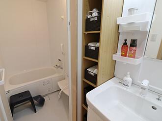 家族葬のセレモニーハウス沢良宜 浴室