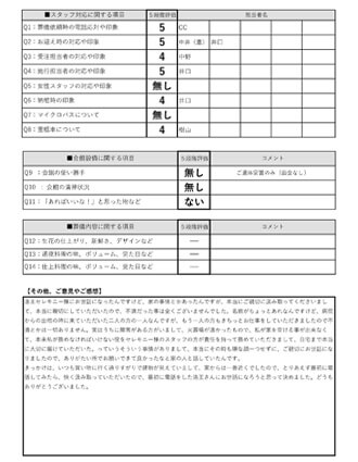 2020529京都市 S様 直葬のアンケート