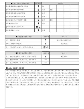 2020626京都市 U様 直葬のアンケート