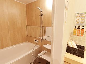 家族葬のセレモニーハウス岸田堂浴室