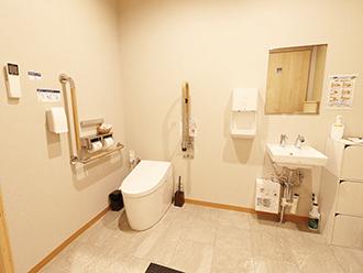 家族葬のセレモニーハウス岸田堂トイレ