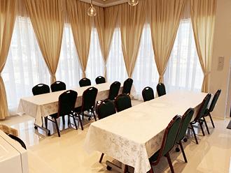 家族葬の福知山ホール食事室