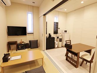 セレモニーハウス川西親族控え室