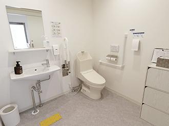 西陣七本松ホールトイレ