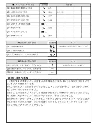 20210221神戸市N様 火葬式・直葬のアンケート