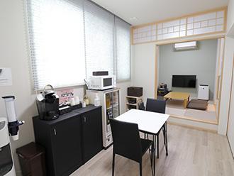セレモニーハウス八尾青山親族控え室