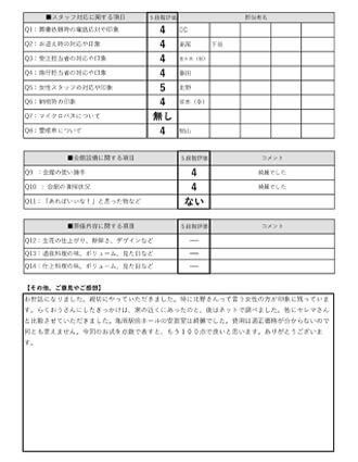 20210323亀岡市M様 火葬式・直葬のアンケート
