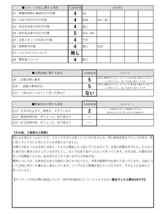 20210329京都市I様 火葬式・直葬のアンケート