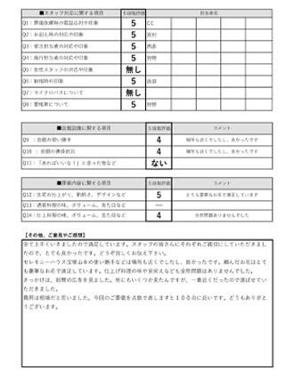 20210330宝塚市T様 火葬式・直葬のアンケート