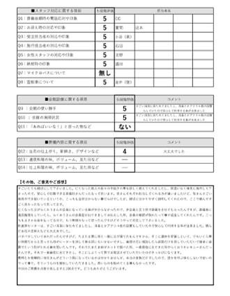 20210402京都市K様 火葬式・直葬のアンケート