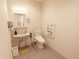 家族葬のらくおう堀川北大路ホールトイレ