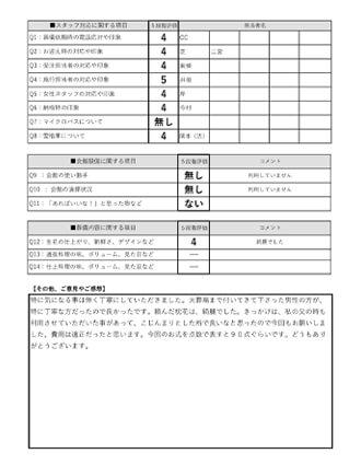 20210814城陽市T様 火葬式・直葬のアンケート