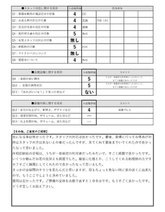 20210821岸和田市H様 火葬式・直葬のアンケート