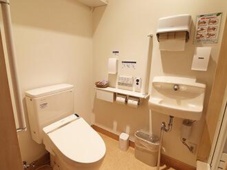 セレモニーハウス平野北(小さなお葬式提携式場)トイレ
